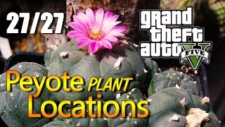 GTA 5 - Peyote Plant Locations [27/27]