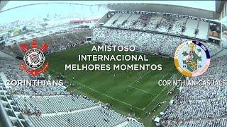 Melhores Momentos - Corinthians 3 x 0 Corinthian-Casuals - Amistoso - 24/01/2015
