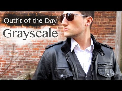 Outfit of the Day | Grayscale | Men's
