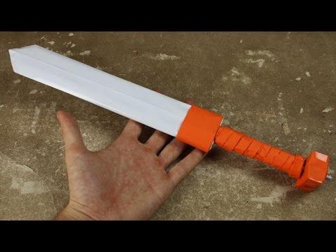 Покажи как сделать меч покажи как сделать меч