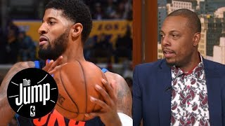 Paul Pierce says Paul George will go to Lakers if Thunder don't win championship | The Jump | ESPN
