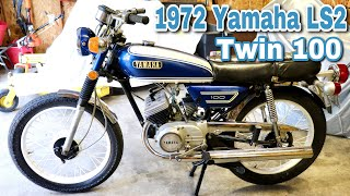 Slippers Toys - 1972 Yamaha LS2 Twin 100 Motorcycle