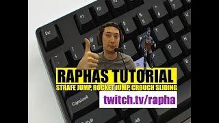 Quake Champions tutorial by Rapha - strafe , rocket jumping and slash crouch sliding