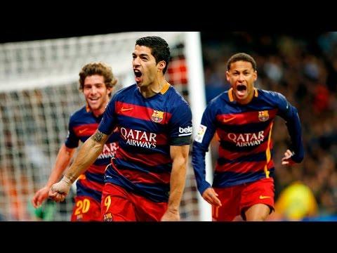 [HIGHLIGHTS] LaLiga 2015/16: Real Madrid - FC Barcelona (0-4)