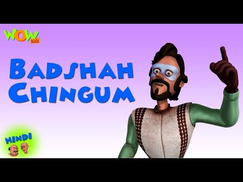 Badshah Chingam - Motu Patlu in Hindi - 3D Animation Cartoon for Kids -As on Nickelodeon thumbnail