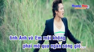 [Karaoke] Anh chỉ yêu mình em  - Châu Khải Phong  - Full Beat