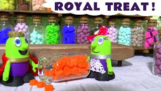 Learn Colors cooking Colorful Candy for King Funling at the Funny Funlings Candi shop TT4U
