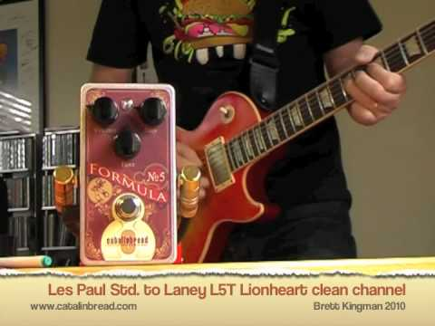 Catalinbread: Formula � 5 with Les Paul (LCPG-187)