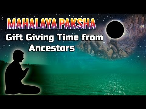 Mahalaya Paksha Dissolve Your Ancestral Karma video