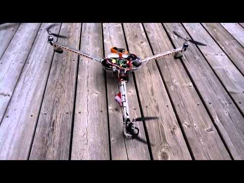 Tricopter Setup Test and controls