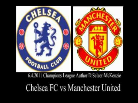 Chelsea FC vs Manchester United Champions League 6.4.2011 SelMcKenzie Selzer-McKenzie