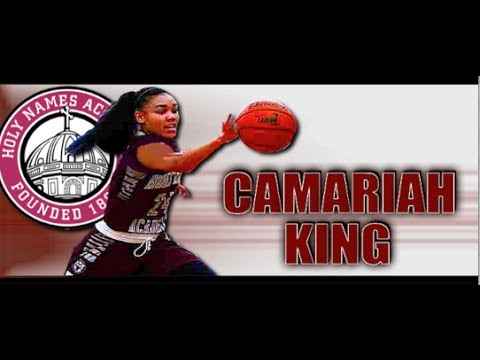 PG Camariah King '15 : Holy Names Academy (Seattle , WA) Junior Year Highlights