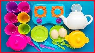 Đồ chơi nấu ăn bộ nhà bếp 20 món, bếp gas, ấm nước, trứng gà, nồi dĩa chảo (Chim Xinh)