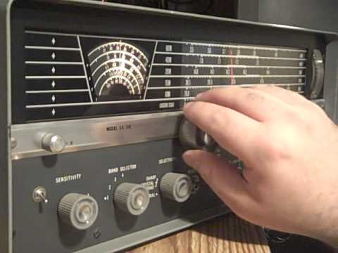 Hallicrafters SX-110 general coverage receiver (demo / overview)