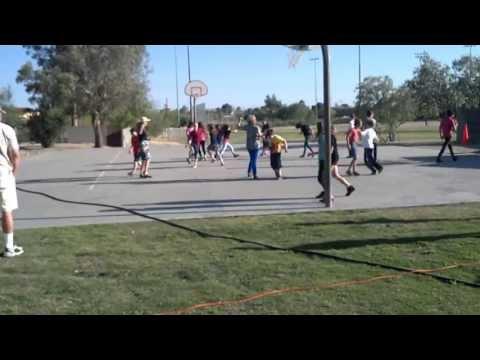 "Tucson Hebrew Academy Lag b'Omer Celebration ""The Chicken Dance"""