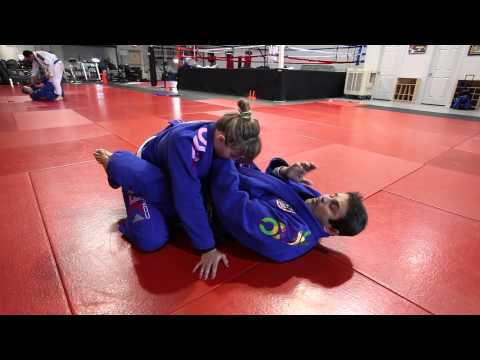 Jiu Jitsu Techniques - Cross Choke + Lapel Choke Options Image 1