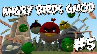 Garrys Mod Angry Birds Part 5 - Playing with Dynamite