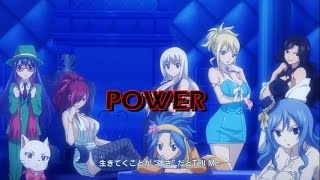 Fairy Tail Girls [AMV] Power