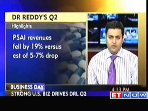 Dr Reddy s Q2 net up 70% at Rs 690 crore   The Economic Times Video   ET Now