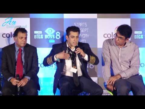 Salman Khan at the Launch of Big Boss Season 8