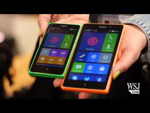 Nokia's New Android Smartphone | Mobile World Congress