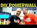 Visiting Peter DIY POWERWALL The 18650 Recycling Man 6720 Recycled Laptop Cells 60kWh Battery mp3