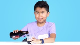 Kids Try Soda from Around the World   Kids Try   HiHo Kids