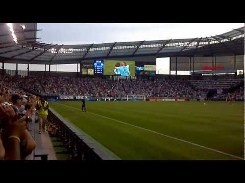 Júlio César goal 6/16/2012 Sporting Kansas City