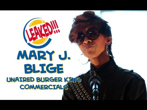 LEAKED!!! Mary J Blige Unaired Burger King Commercial