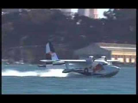 Red Bull Albatross seaplane in San Francisco