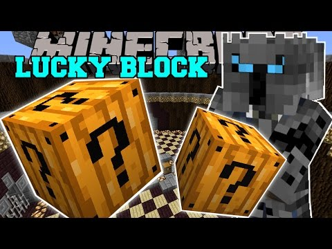 Minecraft: SPOOKY LUCKY BLOCK (THE SCARIEST LUCKY BLOCK EVER?!) Mod Showcase