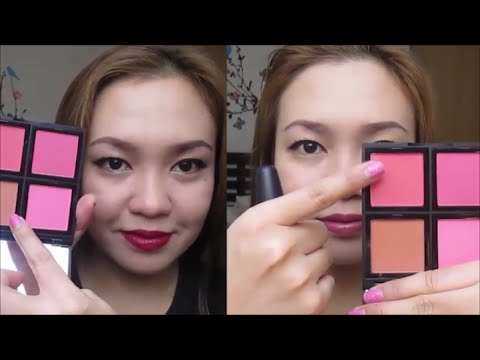 ELF BLUSH PALETTE Review!   TAGALOG