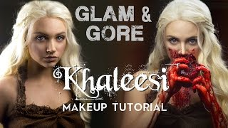 Game of Thrones - Khaleesi / Daenerys Targaryen Makeup Look & Tutorial