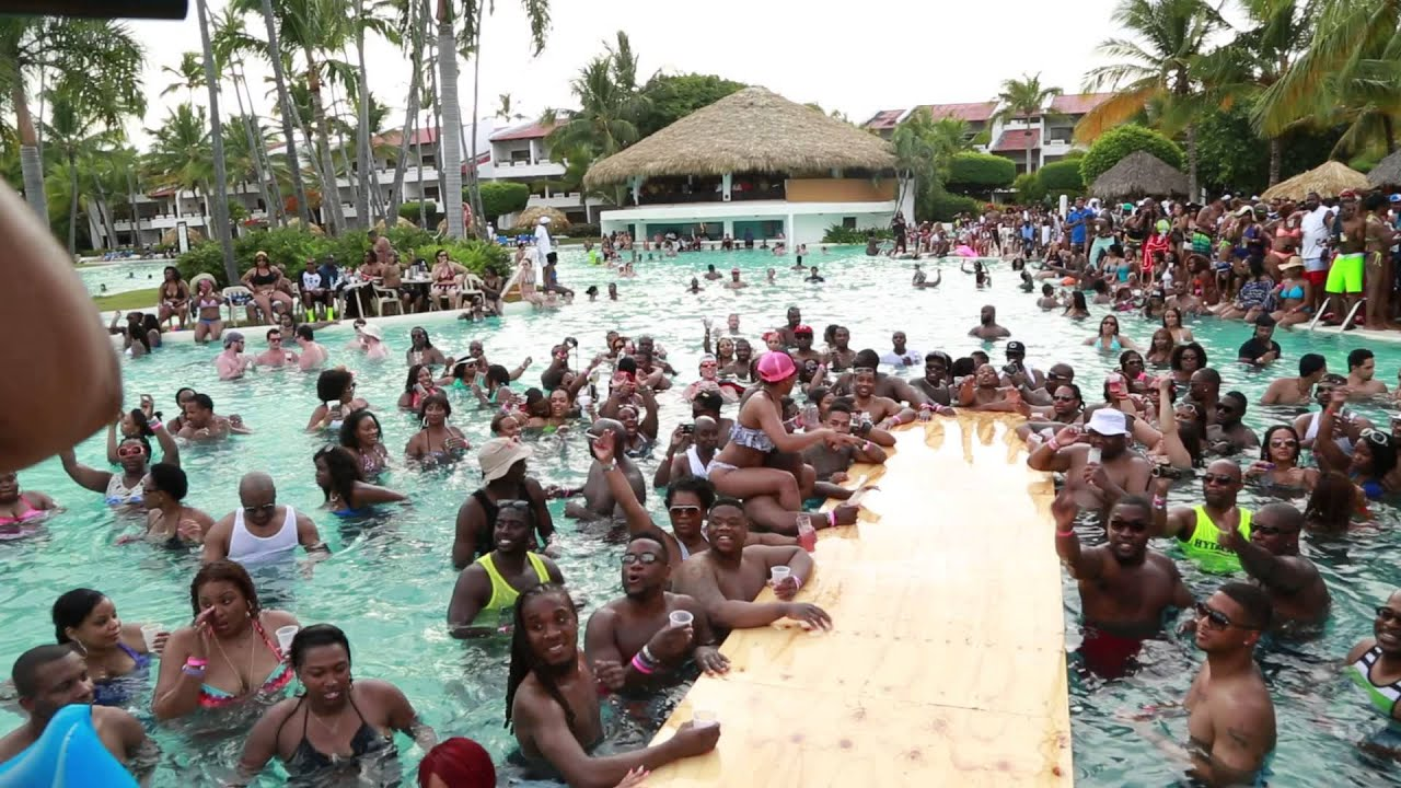 Dominican Pool Party Punta Cana Pool Party Part