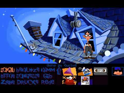 Let's Retro Day of the Tentacle #007 [Deutsch] [HD] - Rede mit Verrückter Ed Edison