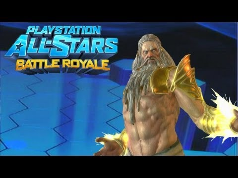 Playstation All Stars Battle Royale: Zeus DLC Review (Commentary) (PS3)