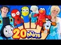 Finger Family Song - Mega Finger Family Collection! Frozen, Minions, Elmo, Nursery Rhymes & More!