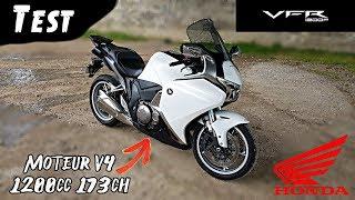 """""""Test"""" Aussi rapide et sensationnel qu'un TGV """"Honda VFR 1200 F de 2011"""""""