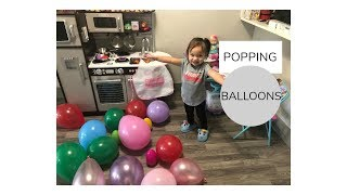 Popping Balloons & Toy Surprises
