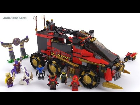 LEGO Ninjago 2015 Ninja DB X review! set 70750