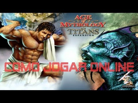 Tutorial de como jogar Age Of Mythology Online (HAMACHI)