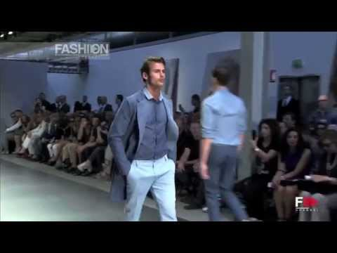 ERMANNO SCERVINO Spring Summer 2014 Menswear Collection Milan HD by Fashion Channel