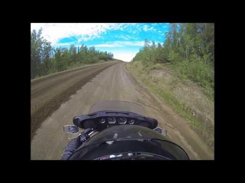arctic circle road work