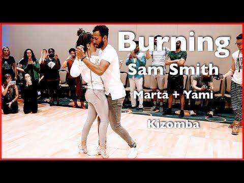 Sam Smith - Burning | Kizomba Dance | Jérémy Yami Cham & Marta Mignone | Washington DC Zouk Festival