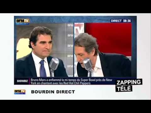 Bourdin écorche légèrement le nom de Valls – jolie petite quenelle special anniversaire dieudonné