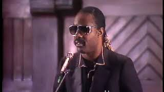 Stevie wonder at Harvard ( circa 1983)