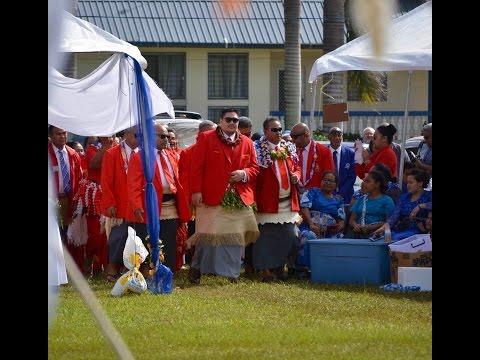 HSH Prince Tungi & Tonga College 'Atele gift presentation to Tupou College Toloa 150th Anniversary