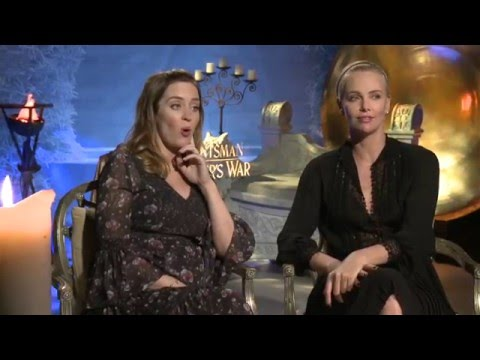 The Huntsman Winter's War Interview - Charlize Theron & Emily Blunt