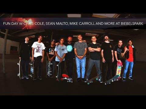 Fun Day w Chris Cole, Sean Malto, Mike Carroll and More at Biebelspark