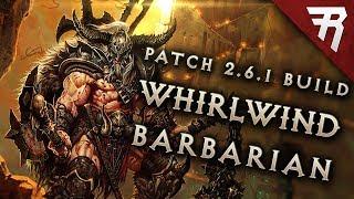 Diablo 3 2.6.1 Barbarian Build: Whirlwind GR 118+ (Guide, Season 15, PTR)